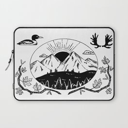 Canadian Mountain Range Laptop Sleeve