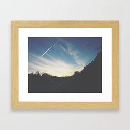 Last Bits of Sunlight Framed Art Print