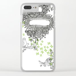 Study for a Mural Clear iPhone Case