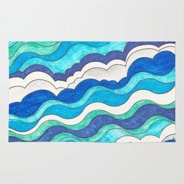 Make Waves II Rug
