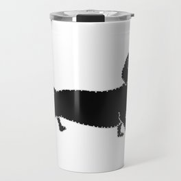 I have Connected the DACHSHUND Doggy Dots! Travel Mug