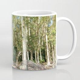 paper bark trees forest Coffee Mug