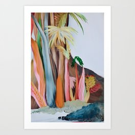 Jungle Landscape Art Print
