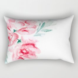 Peonies Rectangular Pillow