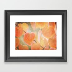 Fading Hearts Framed Art Print