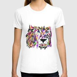 Leo Lion Lines T-shirt