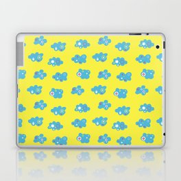 HAPPY SUMMER CLOUDS Laptop & iPad Skin