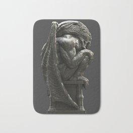 Cthulhu Statuette I Bath Mat