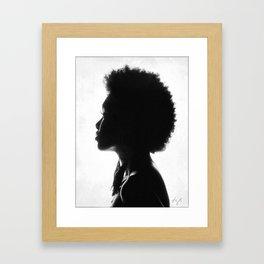 Contours Framed Art Print