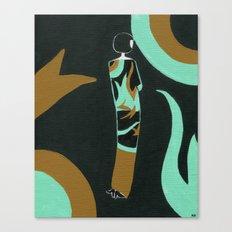 Eloise lives in an art deco paradise Canvas Print