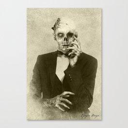 Dark Victorian Portraits: The Hollywood Dead Canvas Print