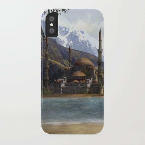 Hidden in the Mountains iPhone Case