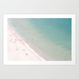 beach - summer of love Art Print
