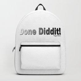 Riggo Monti Design #25 - Done Diddit! Backpack