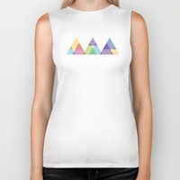 fig Biker Tanks featuring Fig. 029 by Maps of Imaginary Places