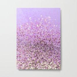 Pink Lilac Gold Unicorn Glitter Glam #1 (Faux Glitter) #shiny #decor #art #society6 Metal Print