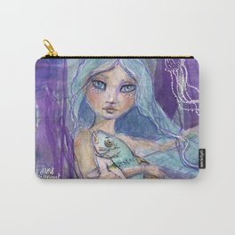 Plenty more Fish in the Sea by Jane Davenport Carry-All Pouch