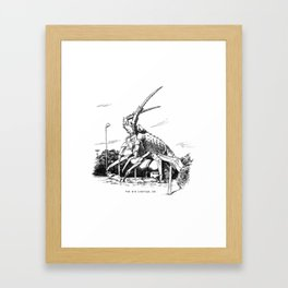 Big Lobster, SA Framed Art Print