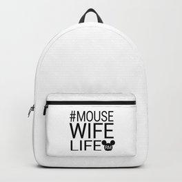 #MOUSEWIFELIFE BLACK Backpack