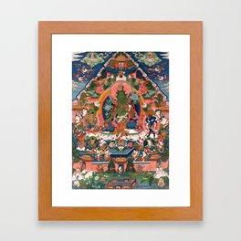 The Green Tara Framed Art Print
