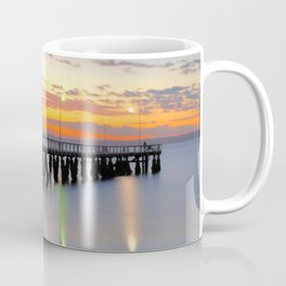 Wellington Point Jetty Sunrise Coffee Mug