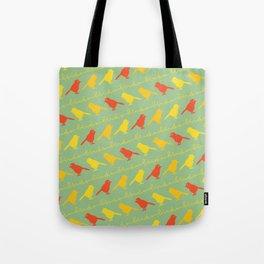 BirdsBirdsBirds Tote Bag