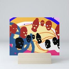 Gang of lobster claws Mini Art Print
