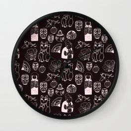 Japanese Treasures Wall Clock