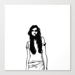 girl girl Canvas Print