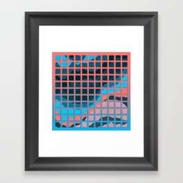 TOPOGRAPHY 2017-006 Framed Art Print