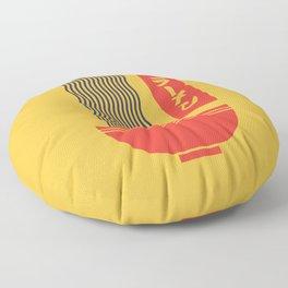 Ramen Japanese Food Noodle Bowl Chopsticks - Yellow Floor Pillow