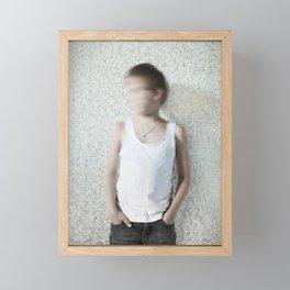 No! Framed Mini Art Print