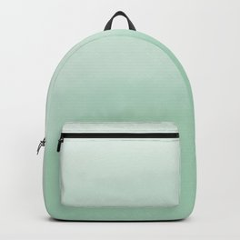 Green Ombre Watercolour Backpack