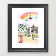 Coney Island, NYC Framed Art Print