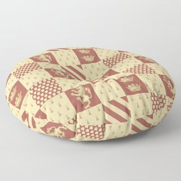 House of the Lion Floor Pillow