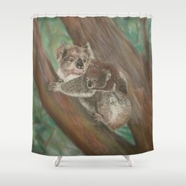 Koala Love with Joey Shower Curtain