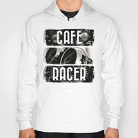 cafe racer Hoodies featuring Cafe Racer by Rainer Steinke