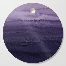 WITHIN THE TIDES ULTRA VIOLET by Monika Strigel Cutting Board