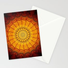 Golden Seal Stationery Cards