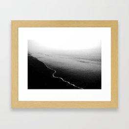 dead calm Framed Art Print