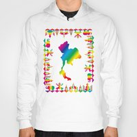 thailand Hoodies featuring Rainbow Thailand by FACTORIE