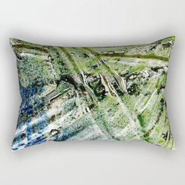 Molten Glass Rectangular Pillow