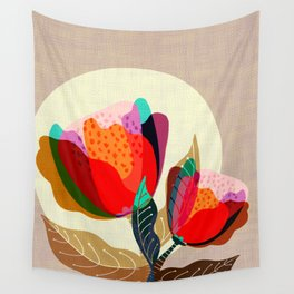 Floral Reverie no2 Wall Tapestry