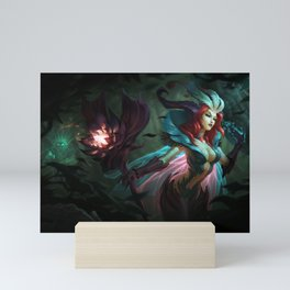 Elderwood Leblanc League of Legends Mini Art Print
