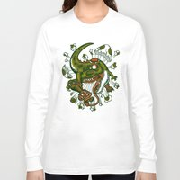 the mortal instruments Long Sleeve T-shirts featuring Mortal egg by Adrian Filmore