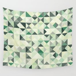 colorful Triangles 2 Wall Tapestry