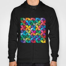 Geometrical work - Colours rotation Hoody