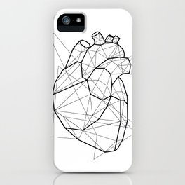 Vector Heart iPhone Case