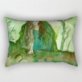Akka The Earth Goddess Rectangular Pillow