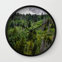 Forest Bowl Wall Clock